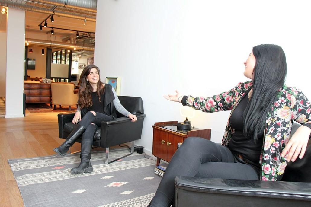 Ottavia Tomarchio und Lena Bücker, die Community Managerinnen