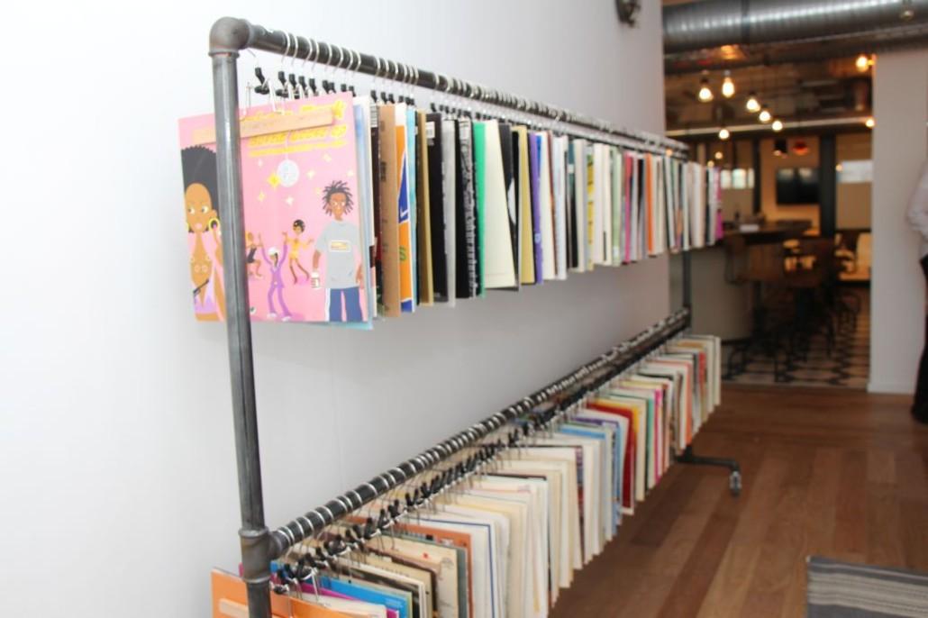 Alte Vinylplatten findet man bei MINDSPACE Hamburg in vielen Ecken.