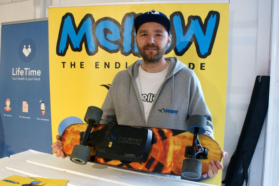 Johannes Schewe von Mellow Boards