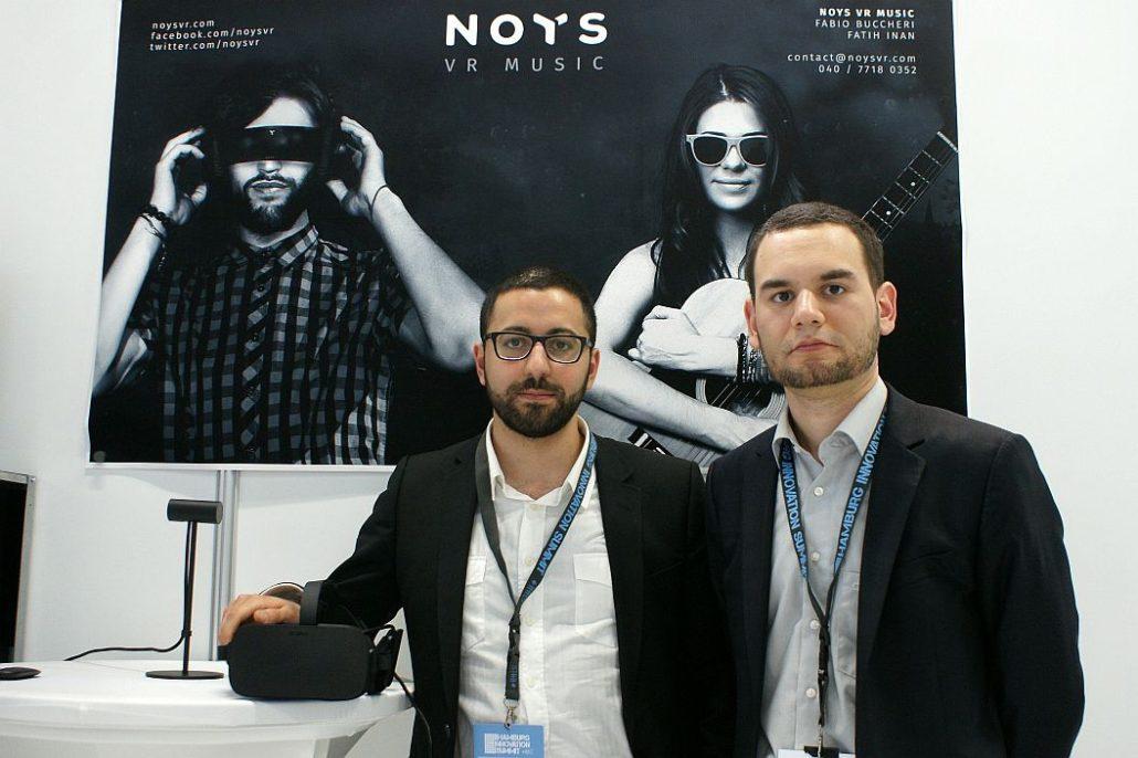Fabio Buccheri und Fatih Inan von Noys