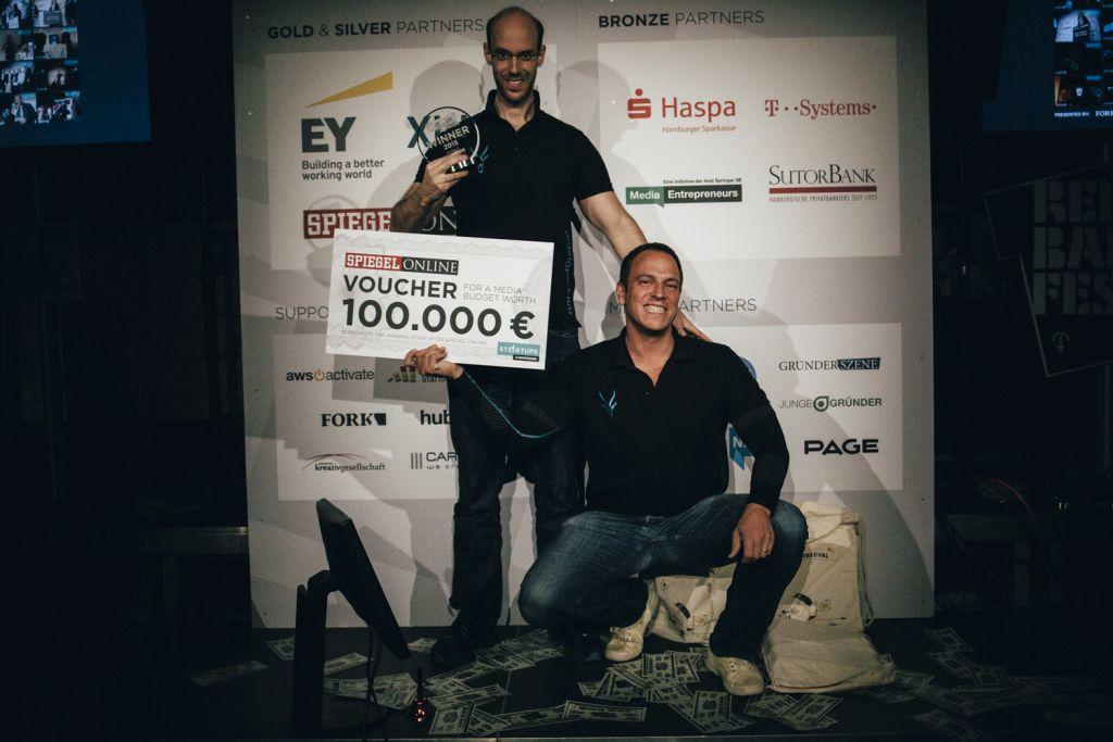 Antelope rockte 2015 den Startups@Reeperbahn Pitch