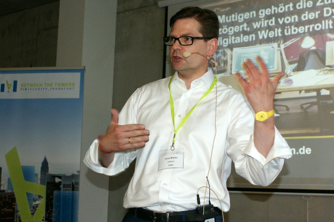 Arno Walter, CEO von comdirect