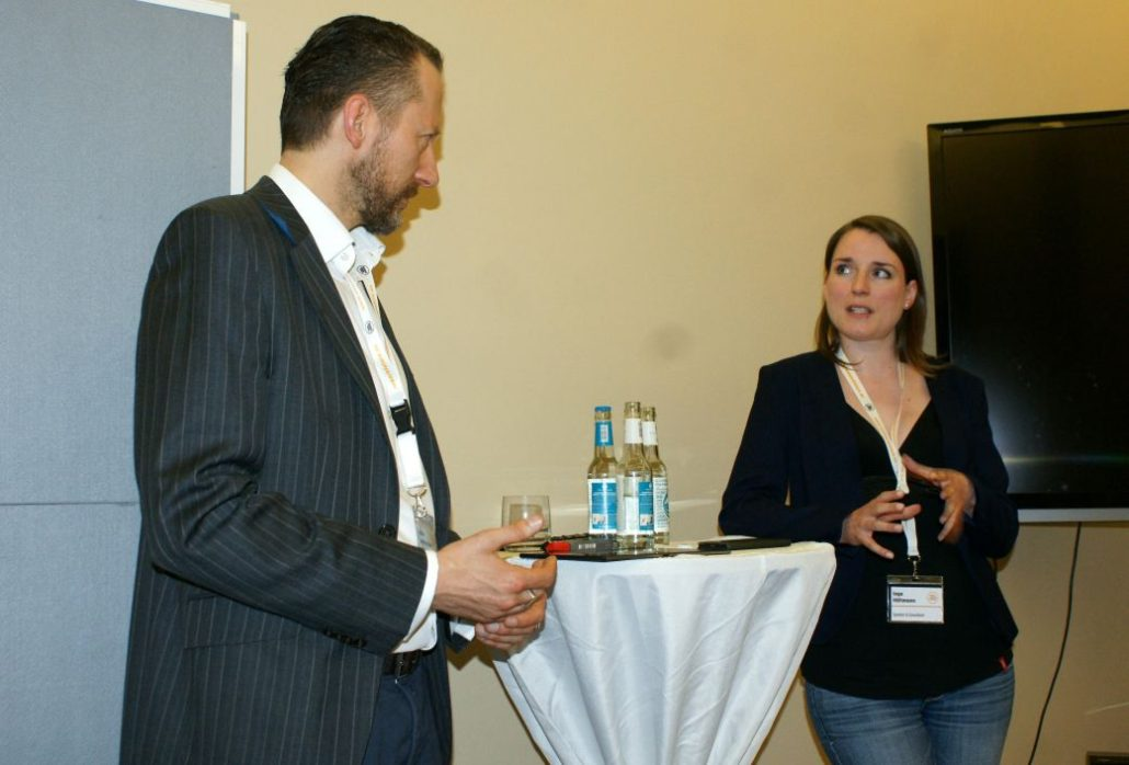 Walter Matthias Kunze und Inga Höltmann
