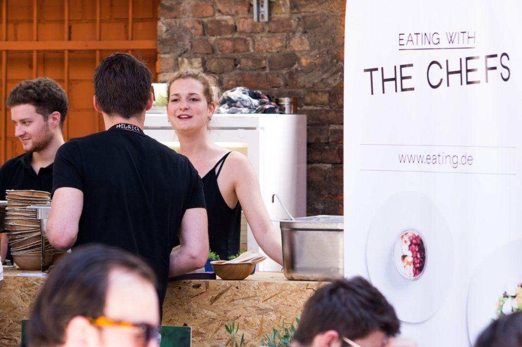 Eating with the Chefs sorgt zusammen mit anderen Startups für das Mittagessen