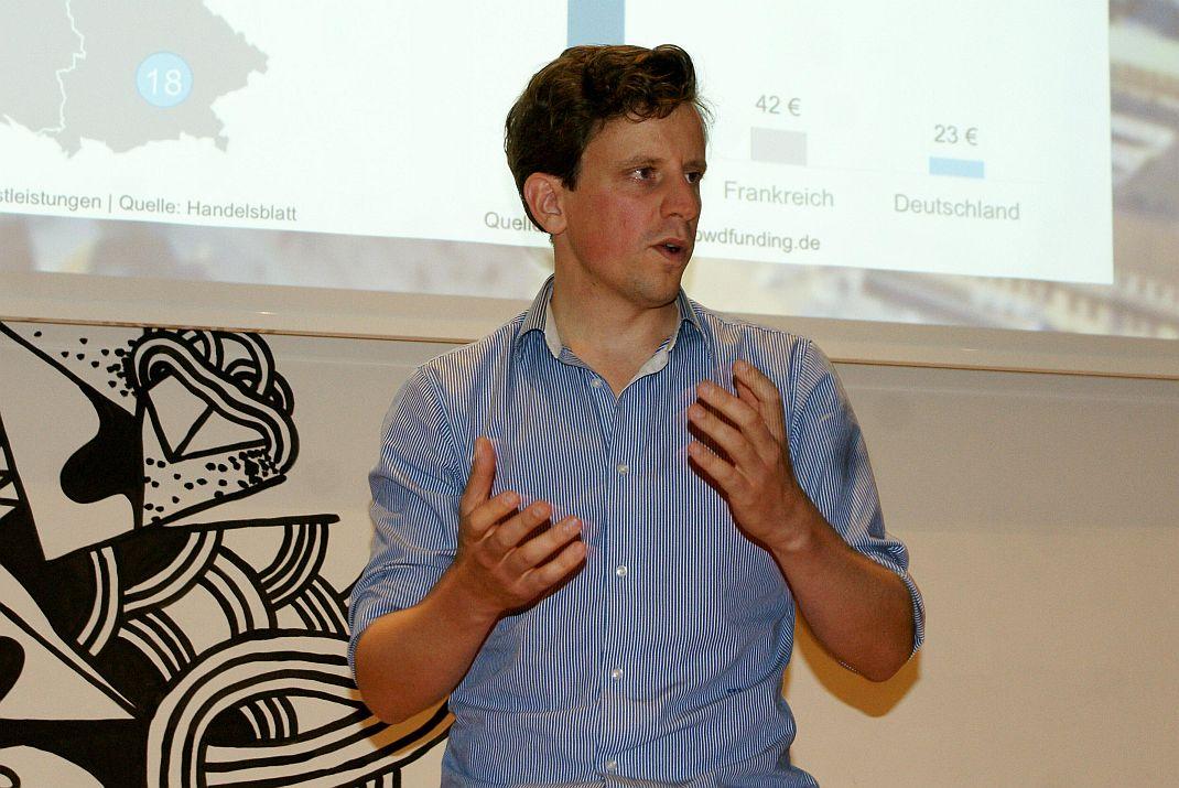 Carl von Stechow, Mitgründer und Geschäftsführer von Zinsland