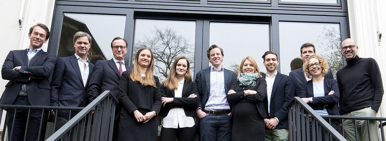 Das Zinsland-Team mit den Gesellschaftern