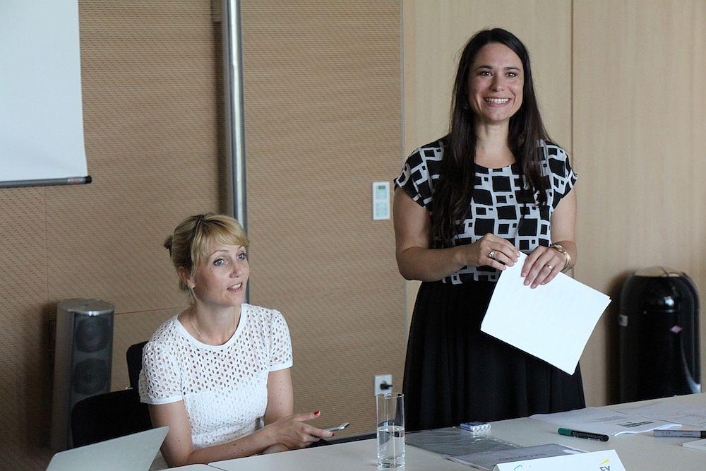 Sina Gritzuhn und Sanja Stankovic, Gründerinnen von Hamburg Startups.