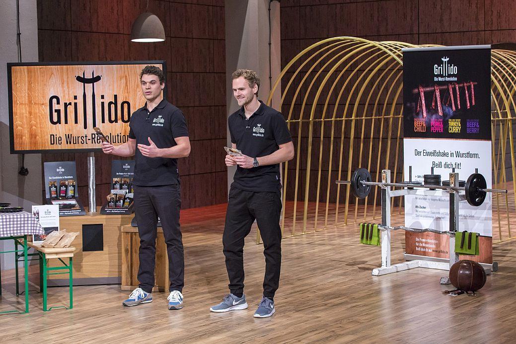 Manuel Stöffler und Michael Ziegler wollen mit Grillido die Wurst-Revolution anzetteln (Foto: VOX / Bernd-Michael Maurer)
