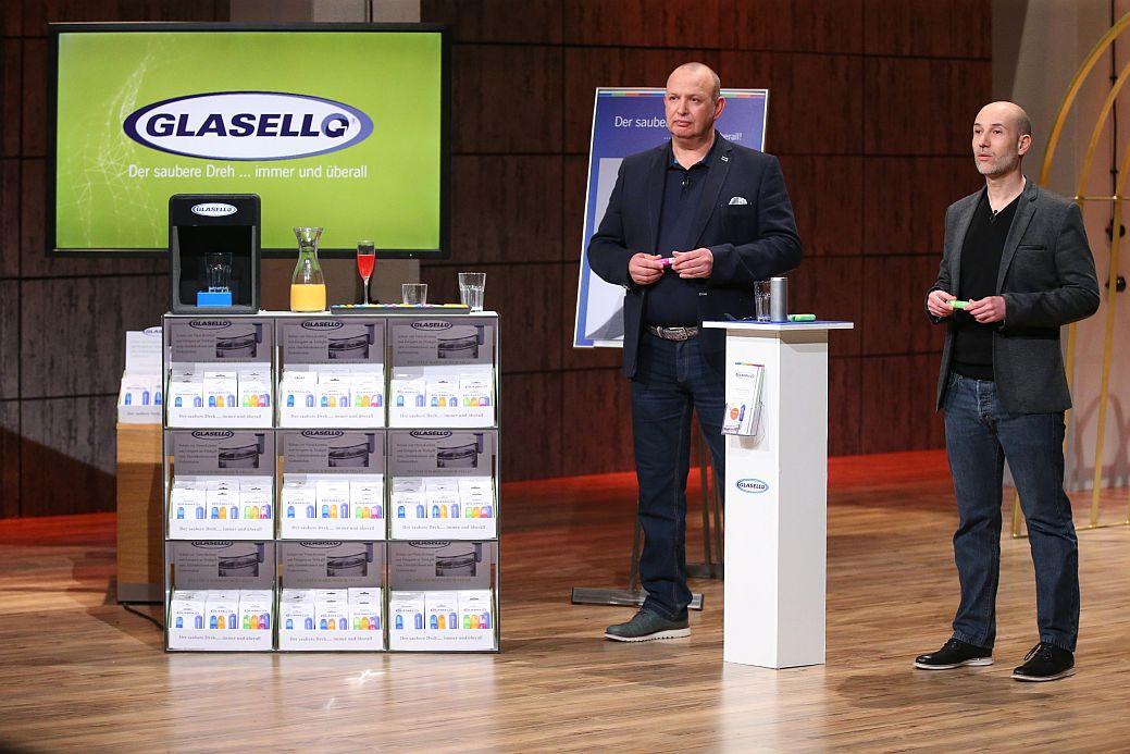 Glasello: Stevan Sokola (49, l.) und José Luis Llorens Garcia (42). (Foto: VOX / Stefan Gregorowius)