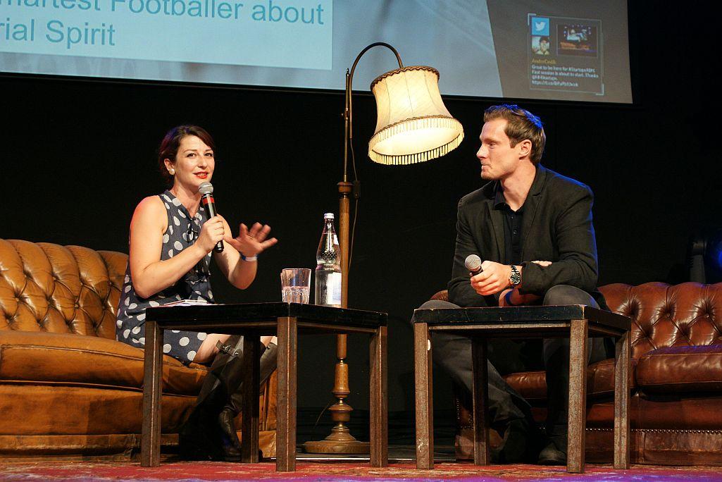 Geraldine De Bastion und Marcell Jansen