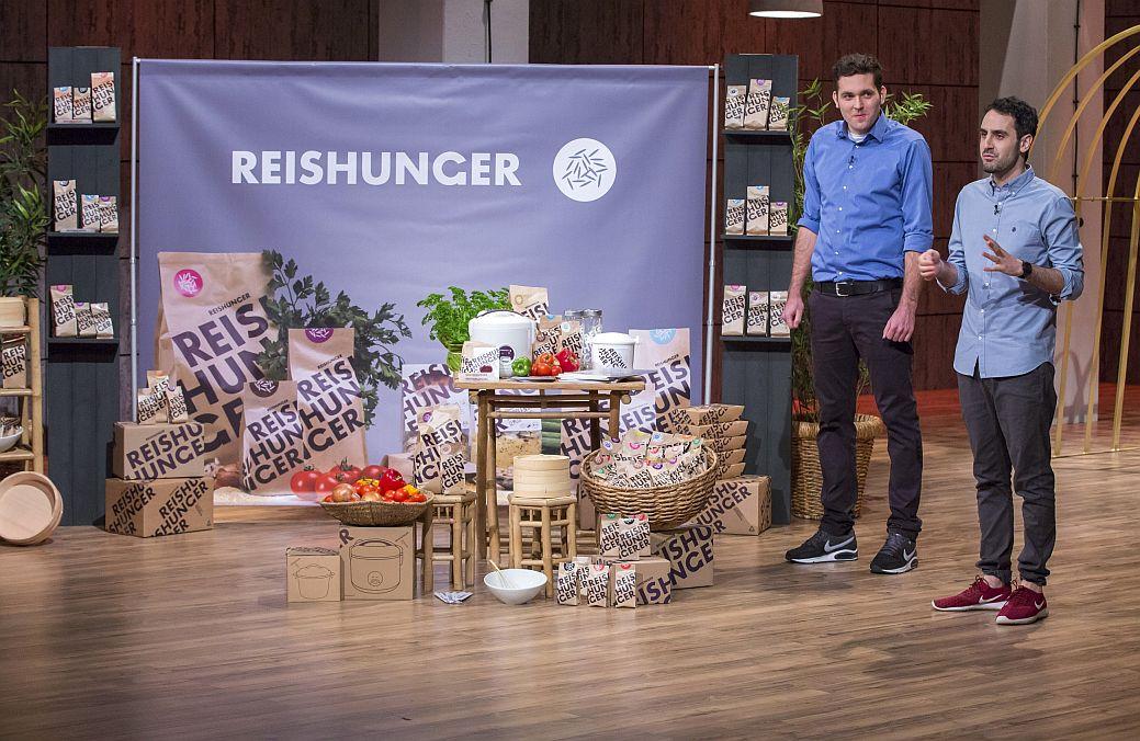 """Die """"Reishunger""""-Gründer Torben Buttjer (l.) und Sohrab Mohammad"""