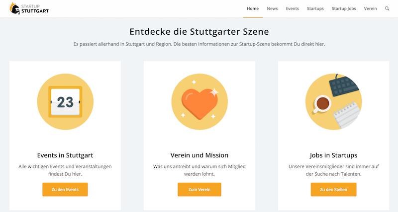 Startup Stuttgart e.V. setzt sich für die Sichtbarkeit und Vernetzung von Startups ein.