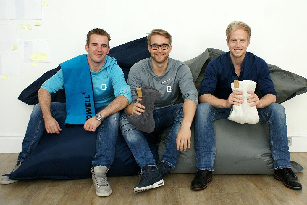 Paul Dudda, Lennart Rieper und Florian Goecke