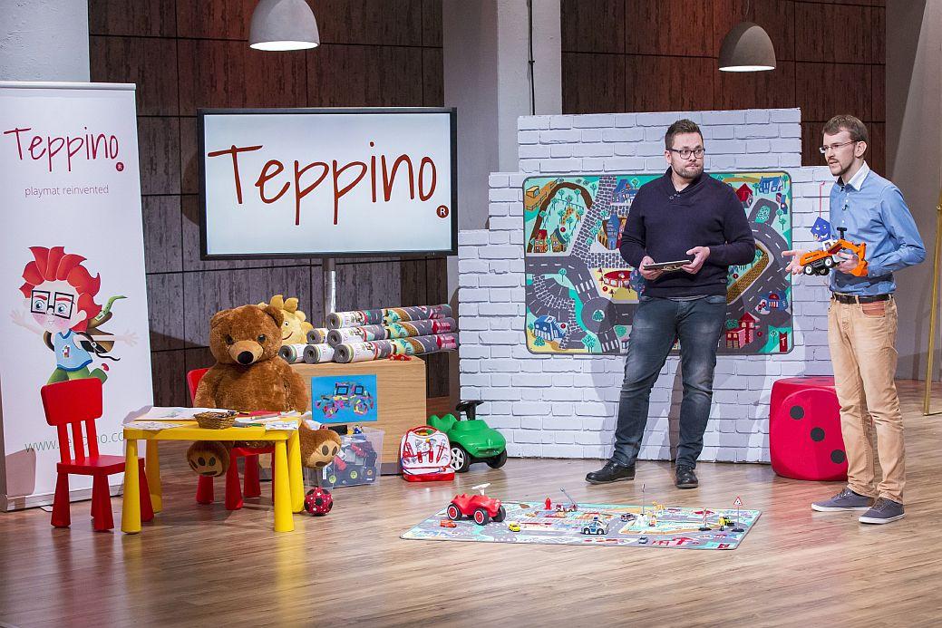 """""""Teppino"""": Die Gründer David Völker (l.) und Ansgar Messmer"""