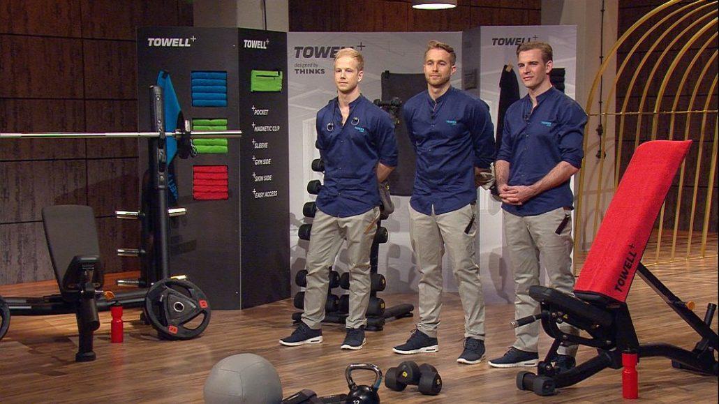 "Das ""Towell""-Team (v.l.): Florian Goecke, Lennart Rieper und Paul Dudda"