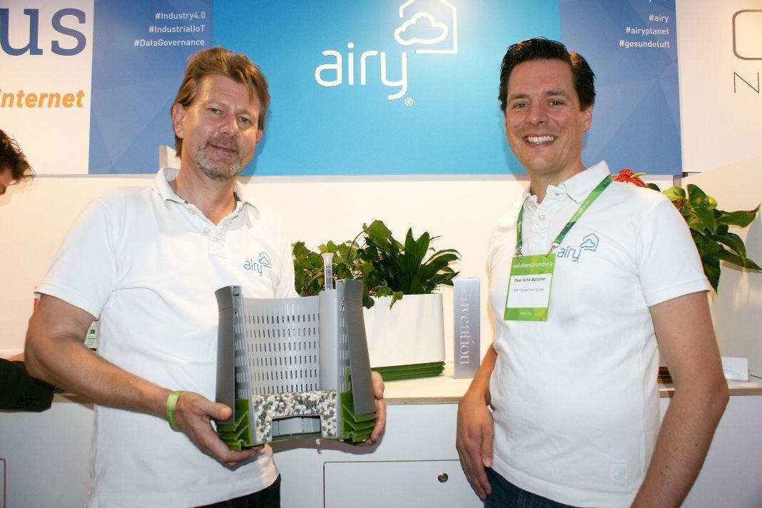 Peer-Arne Böttcher und Helge B. Knickmeyer von AIRY