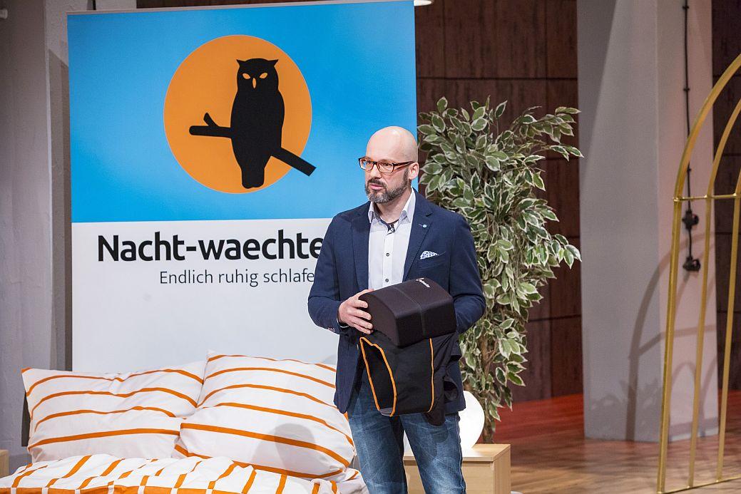 Nachtwächter -Gründer Marcus Ruoff (Foto: Bernd-Michael Maurer / VOX)