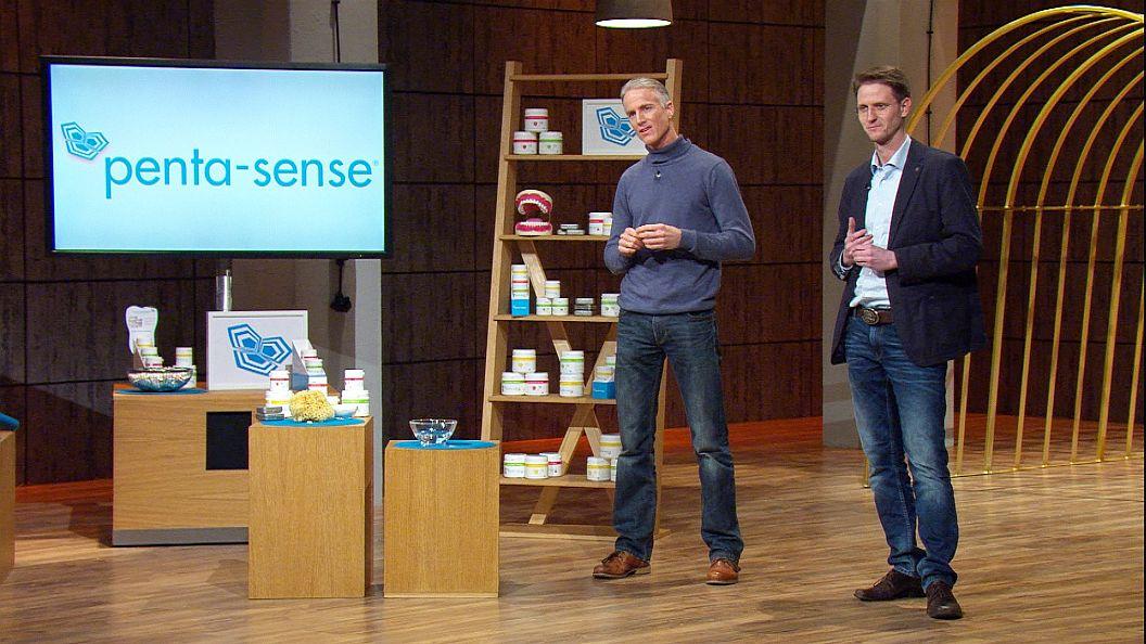 """penta-sense""-Gründer Randall Pitts (l.) und Philip Kirchhoff"