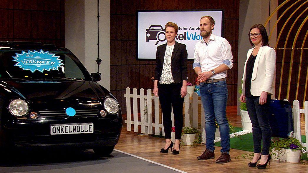 Onkel Wolle (v.l.): Katja Lamprecht (29), Markus Lambrecht (29), Gianna Guardabasso (30)