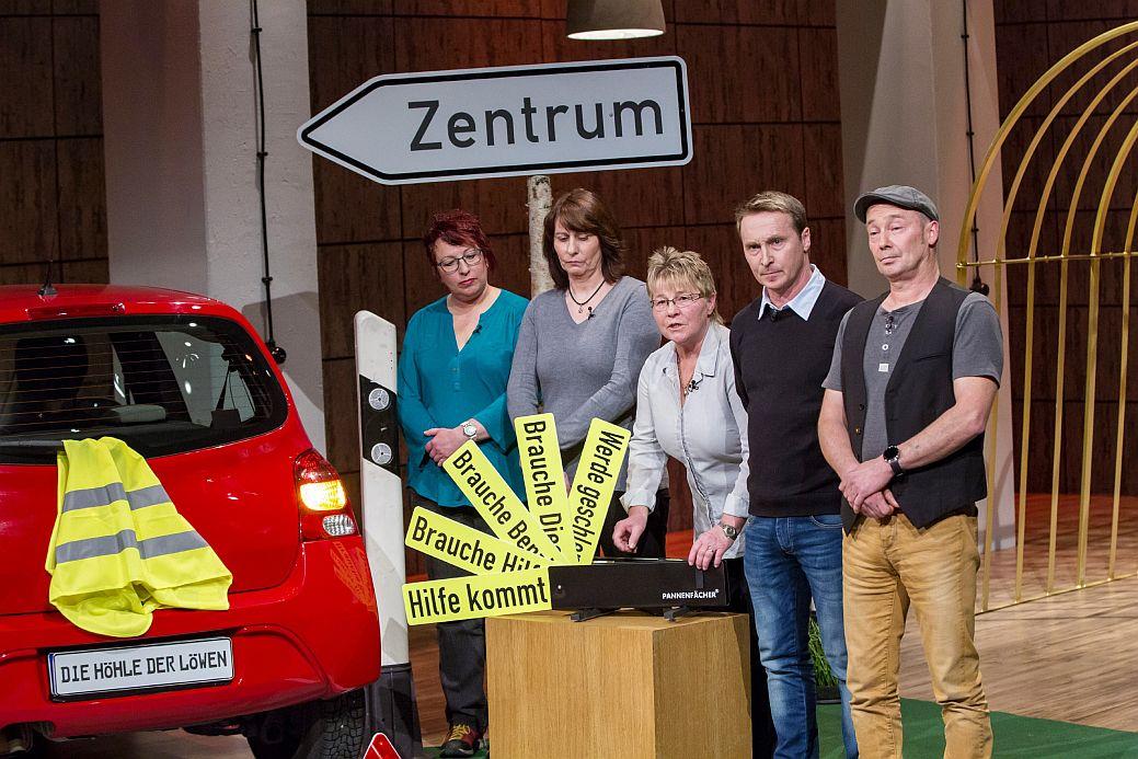 V.l.: Die Gründer Sabine Hartmann, Anja Bergmann, Marita Riesner, Rolf Kaulartz und Richard Kaulartz