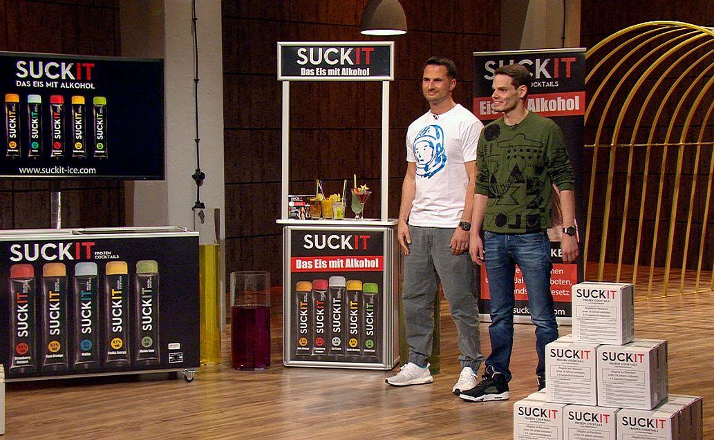 SuckIt: : Elvir Omerbegovic (37, l.), Max Scharpenack (30)