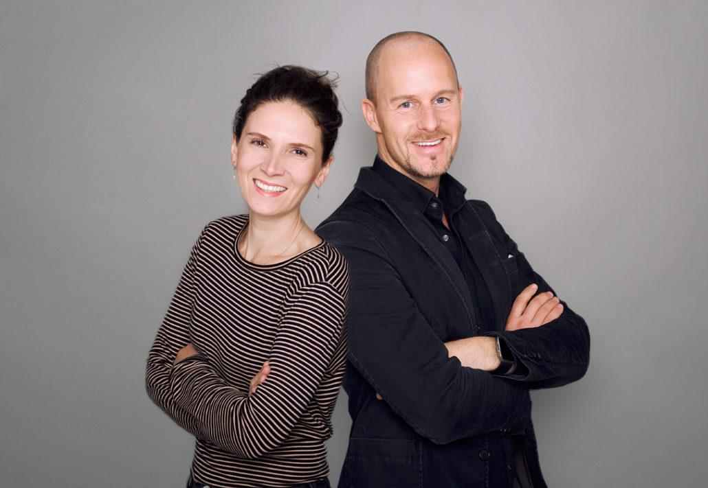 SZURO Gründer-Team Anna Primavera und Nico Gaycken (Bild: SZURO)