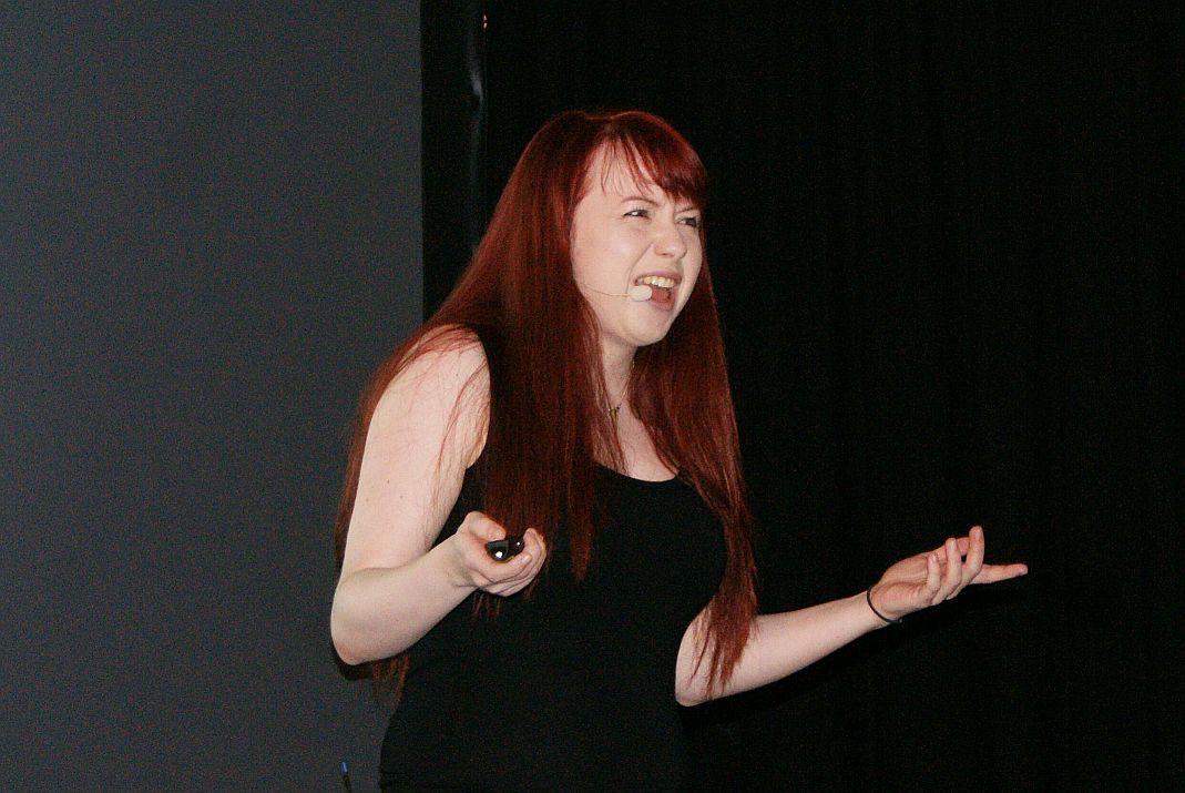 Hat definitiv den inneren Affen rausgelassen: Stephanie Alys von MysteryVibe