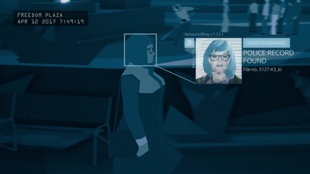 Ein Screenshot aus dem Intro von Orwell (Bild: Osmotic Studios)