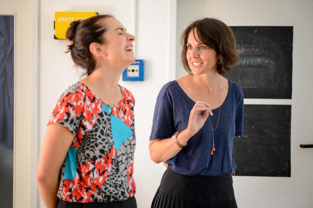 Die beiden Gründerinnen Constanze Klotz und Hanna Charlotte Erhorn (Bild: Deutschland - Land der Ideen/ Benjamin Hüllenkremer)