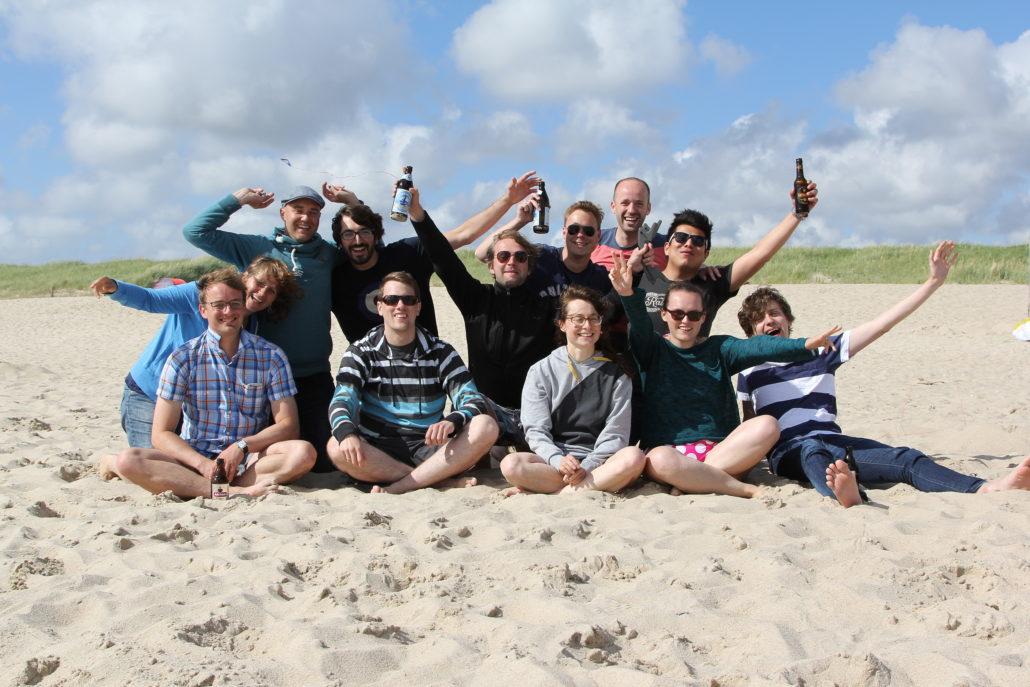 Das quantilope-Team in ihrem Retreat in Dänemark.