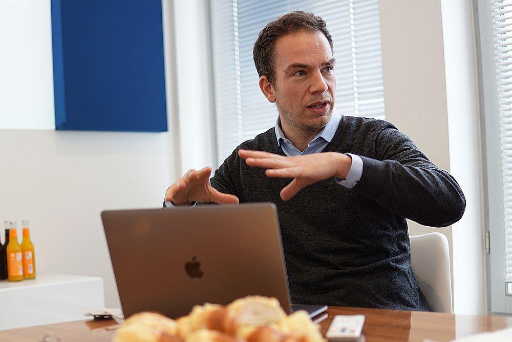Simon Brunke, Co-CEO von Exporo