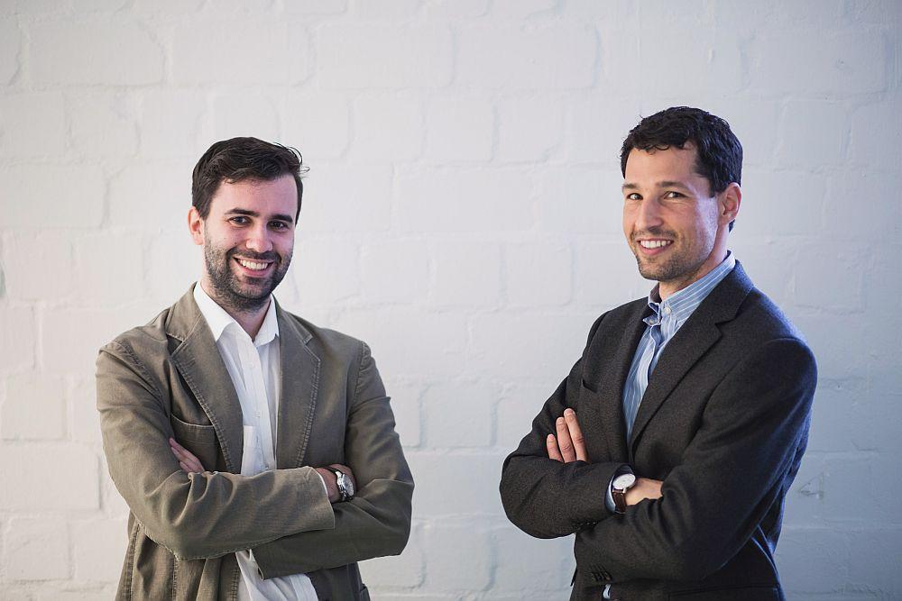 CEO Andreas Kitzing mit CTO Christian Kaspar (Foto: Sponsoo)