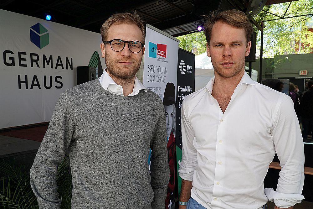 Die WorkGenius-Gründer Daniel Barke und Marlon Litz-Rosenzweig.