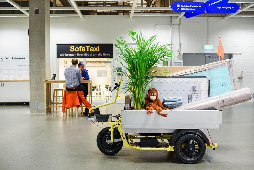 Ikea Anhänger elektro-anhänger von nÜwiel hilft beim transport von ikea-möbeln