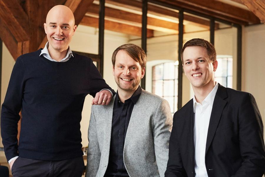 Das Führungsteam: Dr. Peter Aschmoneit( CEO), Dr. Thomas Fandrich (COO) und Dr. Lucas Bremer (CDO) (Foto: quantilope)