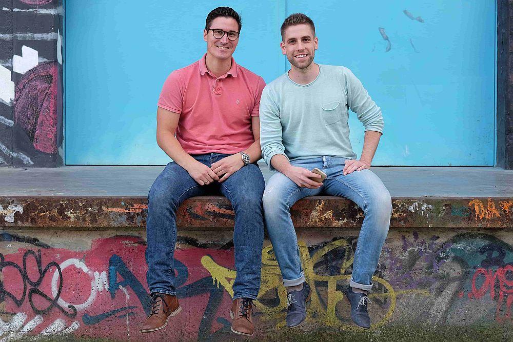 Die Gründer Carlo Ulbrich und Benny Bennet Jürgens (Foto: NECT)