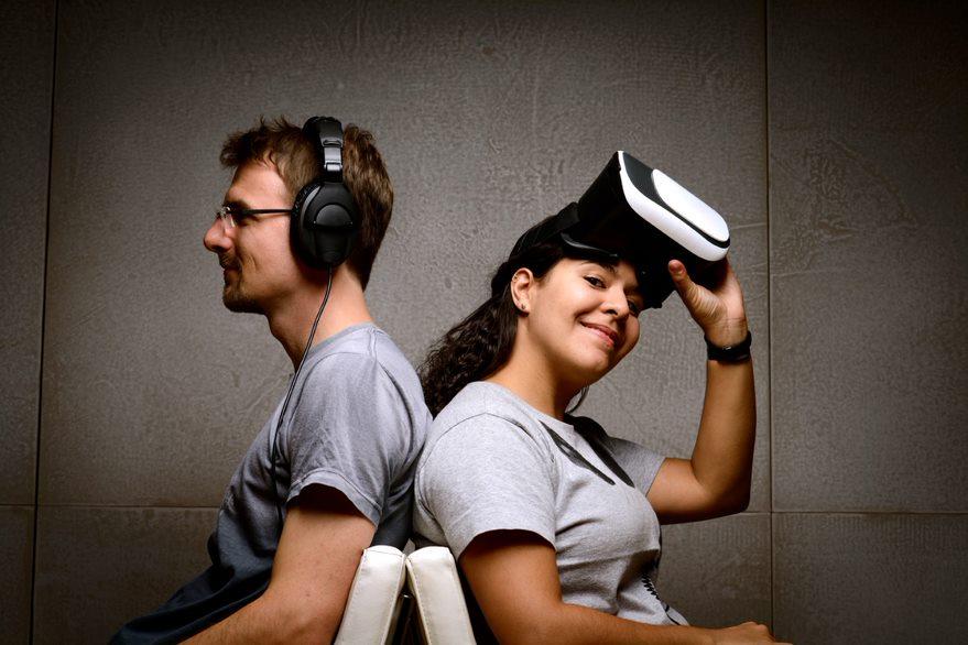 Das Gründerduo von DELTA Soundworks: Daniel Deboy und Ana Monte (Foto: DELTA Soundworks) SXSW Baden-Württemberg