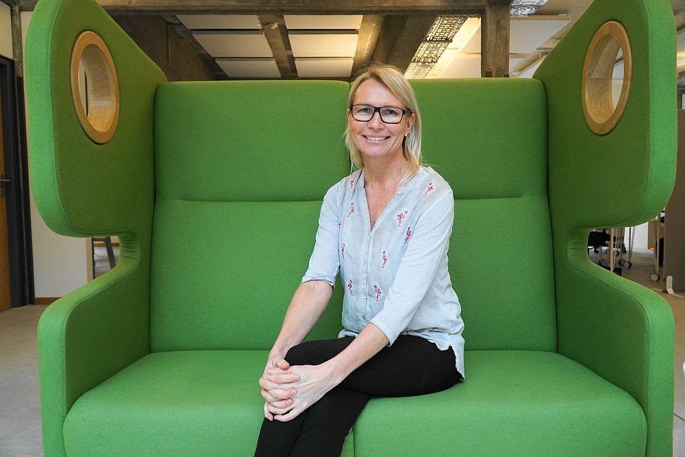 next media accelerator: Dr. Anu-Maaria Sandmair von VibeVision