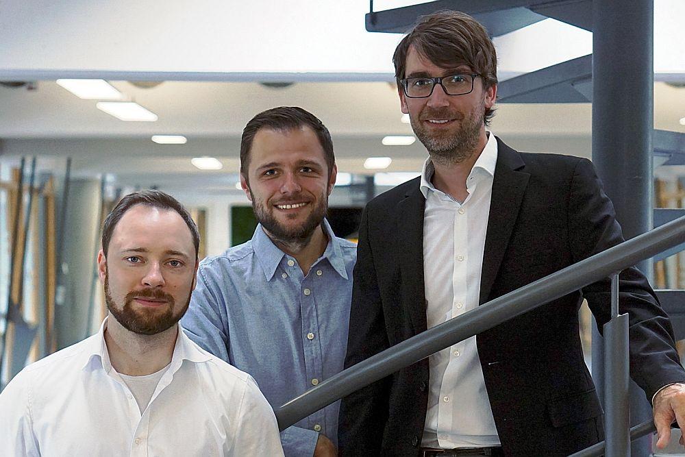 Die Gründer von attenio: Dr. Philipp S. Halata ,Dr. Fedor Titov und Dr. Florian Tietze