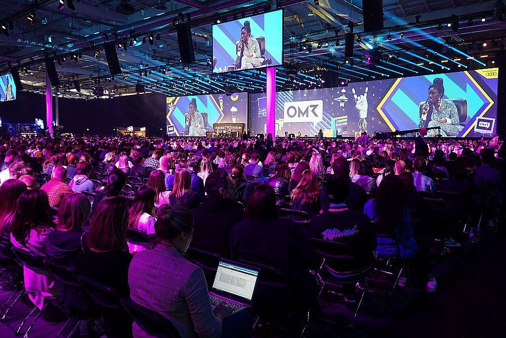 Gibt es 2021 wieder ein OMR Festival mit vollem Programm in der Hamburg Messe? Noch steht nichts fest.