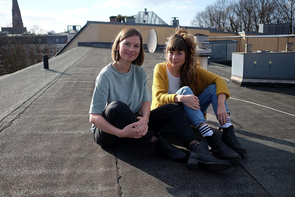 Die  yōyoka -Gründerinnen Christin Schmidt und Hanna Wedekind (Foto: Stefanie Stuth)