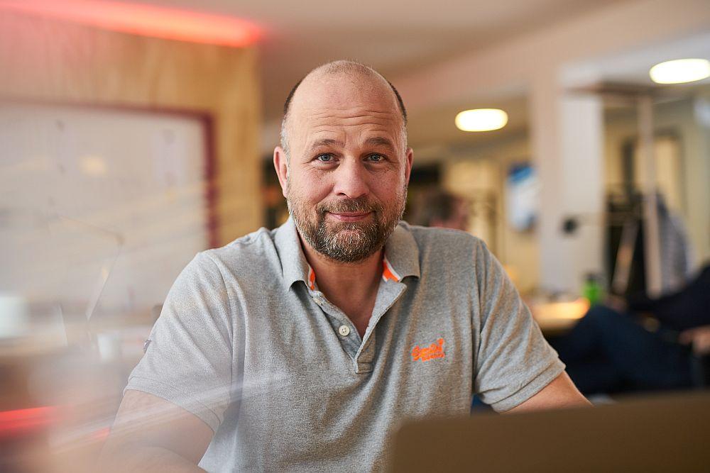 Bernd Wittkamp vom Sparkassen Innovation Hub