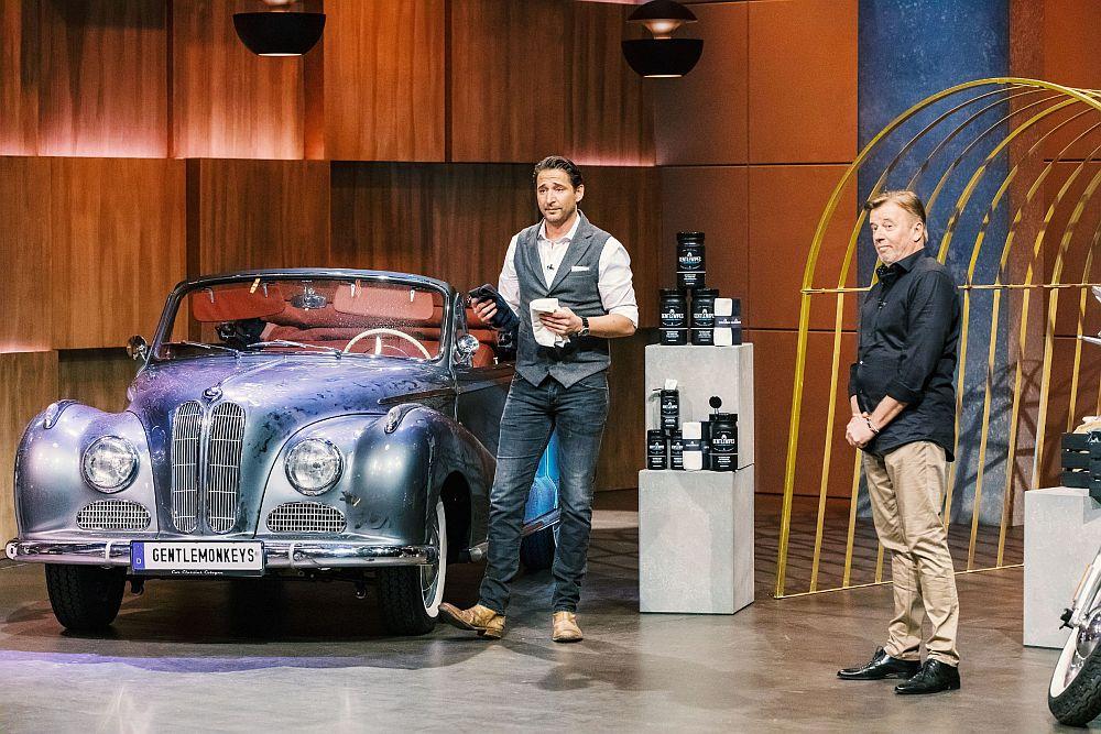 Dustin Weidenhiller und Gerhard Pletschacher sind die GentleMonkeys. (Foto: TVNOW / Bernd-Michael Maurer)