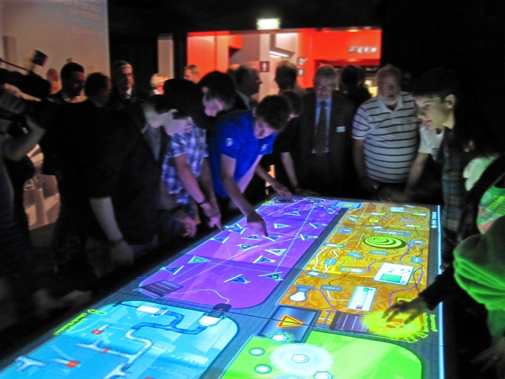 Der erste Auftrag für eyefactive: TecMania im Jahr 2009.