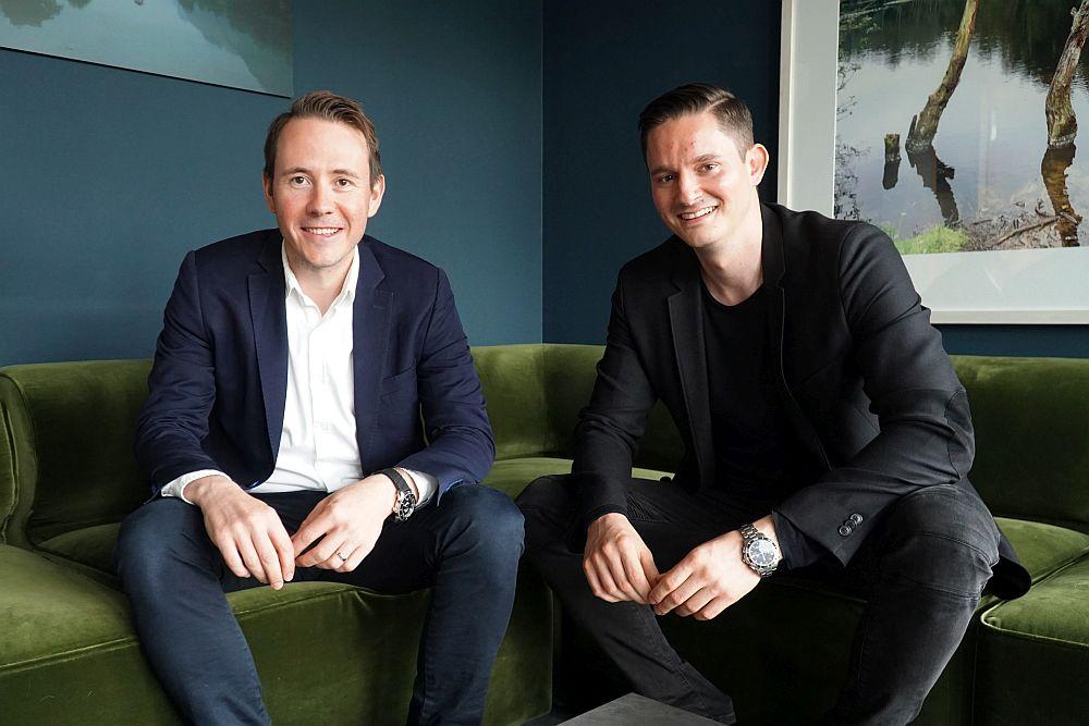 Die KlickOwn-Gründer Wladimir Huber und Alexander Braune.