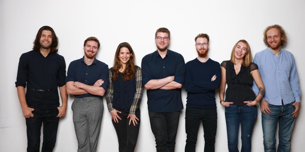 Das Team von Tenzir mit dem Gründer und CEO Matthias Valentin ganz links (Foto: Tenzir)