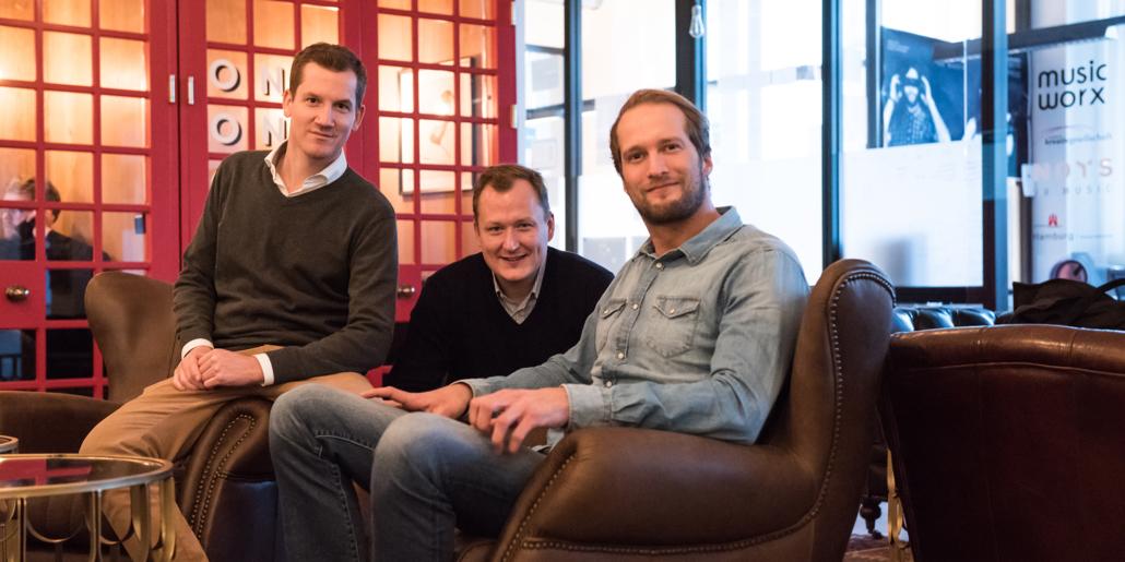 Die Gründer von Nordantech: Christian Kuhs, Jonas Steeger und Arne Brenneisen