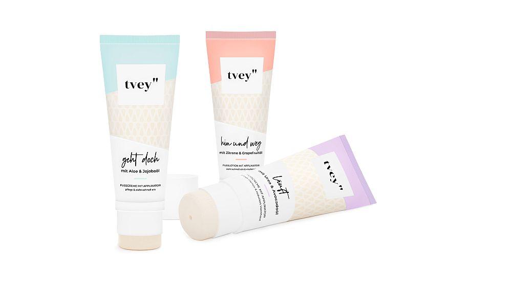 tvey gibt es in drei Varianten