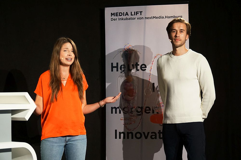 Lilly Wittrock und Jan Henri Kalinowski von Chef Treff