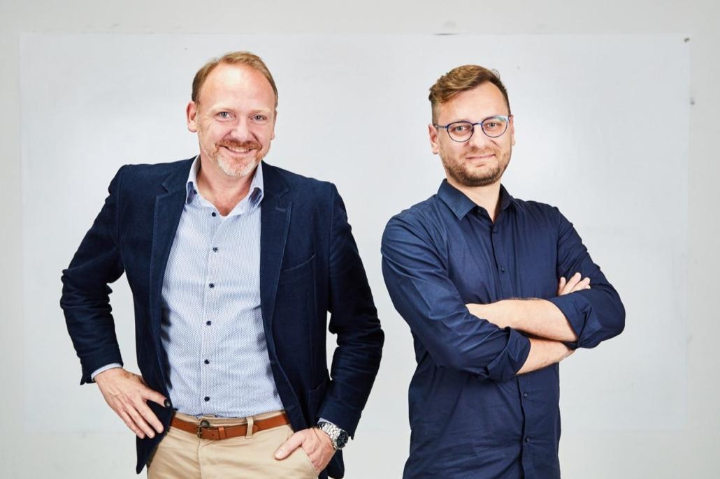 Die Gründer Sören Timm (CFO) und Ilie Ghiciuc (CEO) (Foto: Etvas)